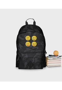 MegaKoszulki - Plecak moro Emoji 2. Materiał: poliester. Wzór: moro