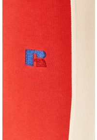 Russell Athletic - Russel Athletic - Legginsy. Kolor: czerwony