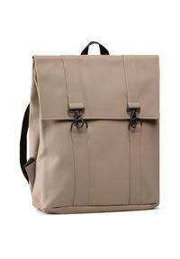 Rains Plecak Msn Bag 1213 Beżowy. Kolor: beżowy