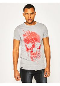 Rage Age T-Shirt Ancient 1 Szary Regular Fit. Kolor: szary