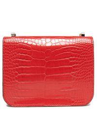 Guess - Torebka GUESS - Corily (CG) Mini HWCG79 91780 RED. Kolor: czerwony. Materiał: skórzane