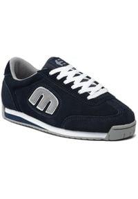 Etnies - Sneakersy ETNIES - Lo-Cut II Ls 4101000365 Dark Navy 488. Kolor: niebieski. Materiał: zamsz, materiał, skóra. Szerokość cholewki: normalna