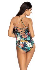 Wielokolorowy strój kąpielowy Lorin