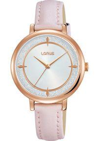 Różowy zegarek Lorus