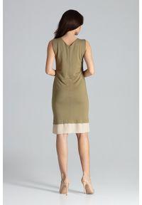 Sukienka prosta, elegancka