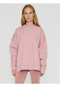 ROTATE Bluza Iris RT467 Różowy Oversize. Kolor: różowy