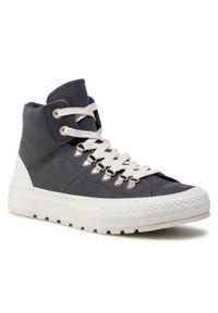 Czarne sneakersy Converse z cholewką