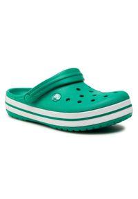 Crocs Klapki Crocband 11016 Zielony. Kolor: zielony