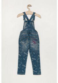 Niebieskie jeansy Desigual z aplikacjami