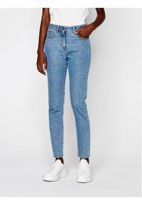 Niebieskie jeansy slim Chiara Ferragni