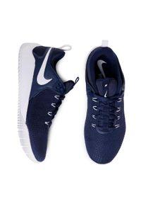 Niebieskie buty treningowe Nike z cholewką