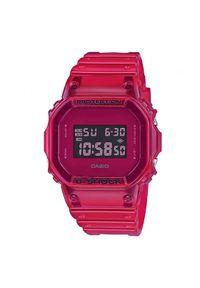 Czerwony zegarek G-Shock