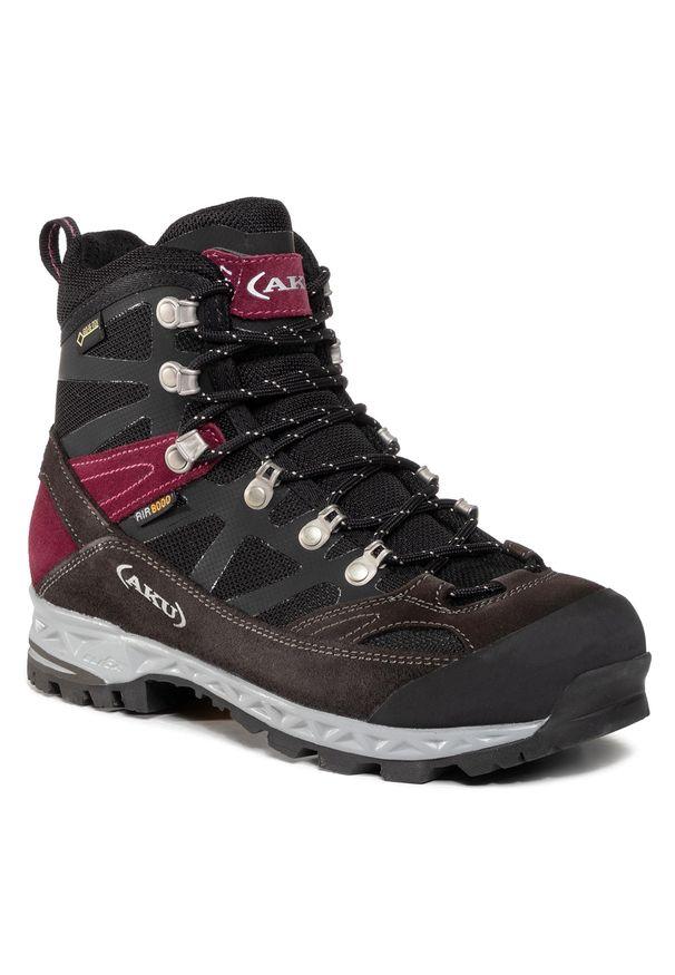 Czarne buty trekkingowe Aku trekkingowe, Gore-Tex