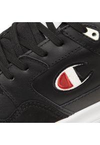 Champion - Sneakersy CHAMPION - Mz80 Low S21647-S21-KK001 nBK. Kolor: czarny. Materiał: skóra, materiał, zamsz. Szerokość cholewki: normalna. Styl: klasyczny