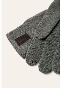 Szare rękawiczki Only & Sons