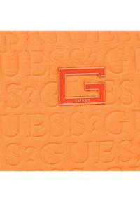 Pomarańczowa kosmetyczka Guess #5