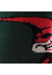 Zielone skarpetki Cup of Sox w kolorowe wzory