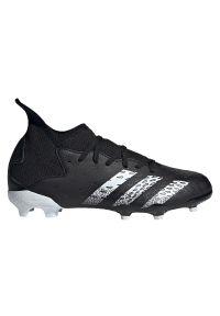 Adidas - Buty piłkarskie dla dzieci adidas Predator Freak 3 FG JR FY1031. Zapięcie: sznurówki. Materiał: materiał, syntetyk. Szerokość cholewki: normalna. Sport: piłka nożna