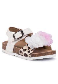 Białe sandały Guess