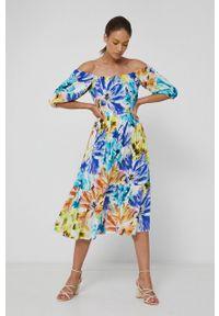 medicine - Medicine - Sukienka Abstract Meadow. Typ sukienki: rozkloszowane