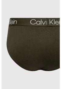 Calvin Klein Underwear - Slipy (3-pack). Kolor: niebieski