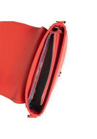 U.S. Polo Assn - Torebka U.S. POLO ASSN. - Jones S Crossb. W/Flap BIUJE4941WVP401 Coral. Kolor: czerwony. Materiał: skórzane. Rodzaj torebki: na ramię