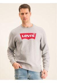 Levi's® Bluza Graphic Crew 17895-0079 Szary Regular Fit. Kolor: szary