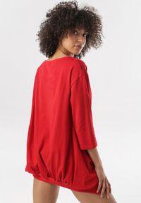 Born2be - Czerwona Bluza Aquasea. Kolor: czerwony