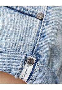 ONETEASPOON - Jeansowe spodenki Bandits Salty Dog. Stan: podwyższony. Kolor: niebieski. Materiał: jeans. Wzór: aplikacja, kolorowy. Sezon: lato. Styl: klasyczny