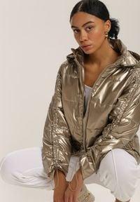 Renee - Brązowa Kurtka Throsk. Kolor: brązowy #1