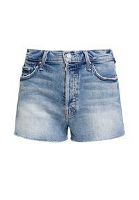 Mother - Szorty MOTHER THE TOMCAT KICK FRAY. Materiał: jeans, tkanina. Sezon: lato. Styl: wakacyjny