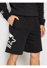 Starter Szorty sportowe SMG-018-BD Czarny Regular Fit. Kolor: czarny