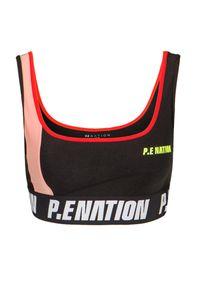 PE Nation - Stanik sportowy P.E NATION OPPONENT SPORTS BRA. Materiał: tkanina, guma, elastan, poliamid, materiał. Styl: sportowy