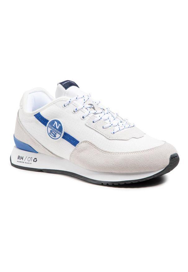 North Sails Sneakersy RH/01 Recy -052 Biały. Kolor: biały