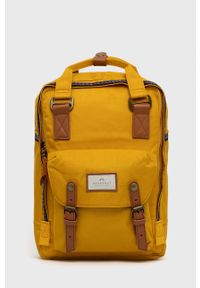 Doughnut - Plecak Macaroon. Kolor: żółty. Materiał: neopren