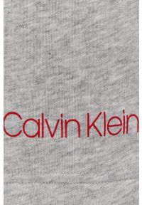 Calvin Klein Underwear - Szorty piżamowe. Kolor: szary. Materiał: dzianina. Wzór: gładki