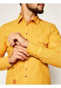 Żółta koszula casual Rage Age