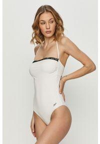 Biały strój kąpielowy Karl Lagerfeld
