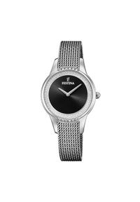 Srebrny zegarek Festina
