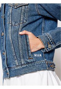 Niebieska kurtka jeansowa MSGM