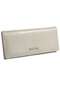 Klasyczny portfel damski Badura B-72401P-SBR. Materiał: skóra