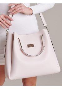 Różowa torebka Badura