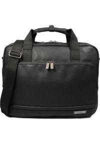 Czarna torba na laptopa National Geographic