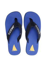 Musto Japonki Nautic Sandal 82031 Granatowy. Kolor: niebieski #5