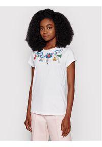 iBlues T-Shirt Naif 79711102 Biały Regular Fit. Kolor: biały