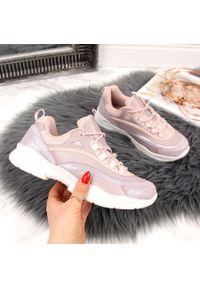 Różowe buty sportowe Filippo