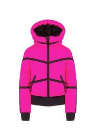 Różowa kurtka narciarska Goldbergh