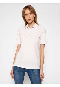 Różowa koszulka polo JOOP! Jeans polo