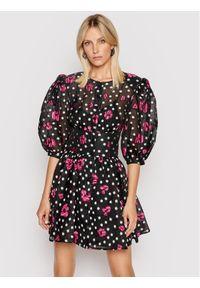 Custommade Sukienka koktajlowa Luina 212395414 Czarny Regular Fit. Kolor: czarny. Styl: wizytowy