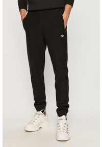 Czarne spodnie dresowe Champion